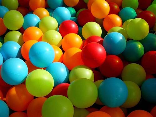 500 pelotas para piscina - infladas - calidad superior -