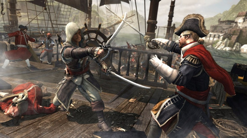 assassin's creed iv black flag  juego digital ps3 oferta