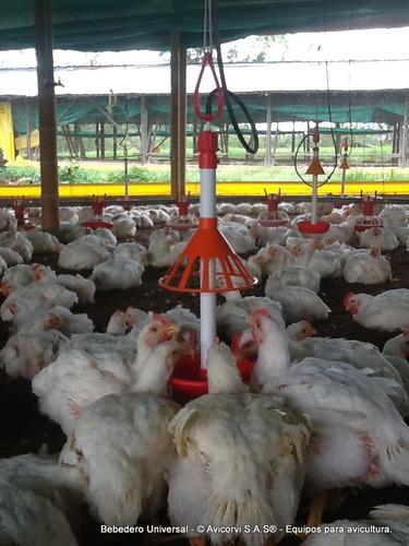 bebedero para aves. equipo avicola - comederos  y bebederos