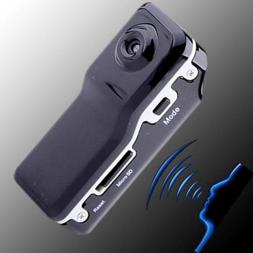 camara espia activa por voz grabadora video y sonido oferta