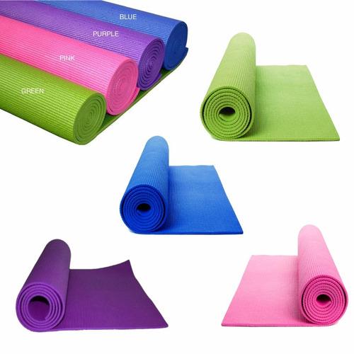 colchoneta yoga pilates fitness gimnasia gtechz