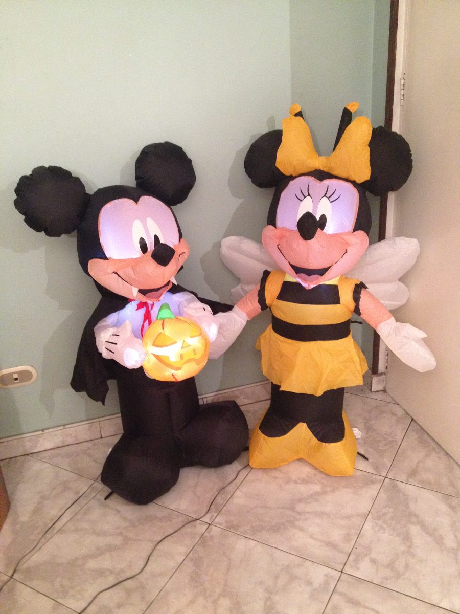 Decoracion Halloween Bogota ~ Decoraci?n Inflable Minnie Halloween  $ 180 000 en Mercado Libre