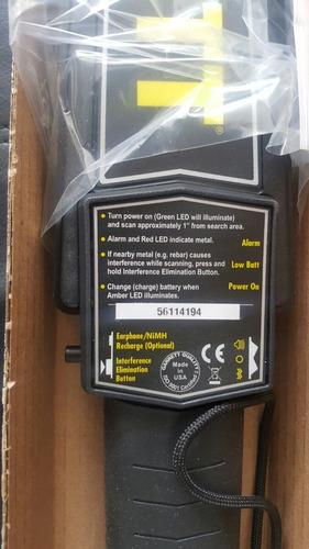 detector metales garrett super scanner v americano promocion