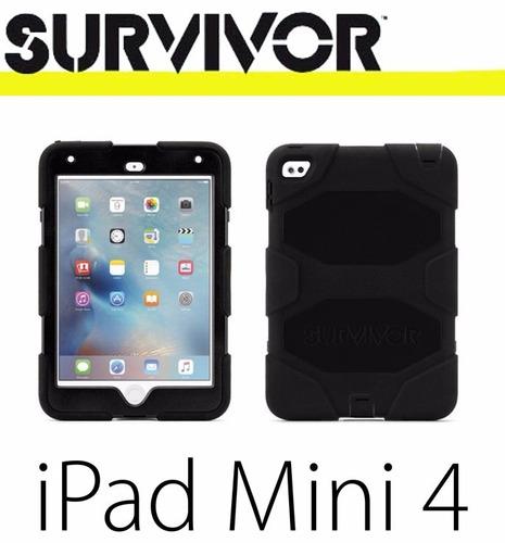 estuche carcasa antichoque survivor all-terrain ipad mini 4