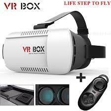 gafas 3d realidad virtual vr box + control bluetooth