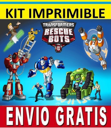 Pics Photos  Kit Imprimible Rescue Bots Rescue Bots Transformers