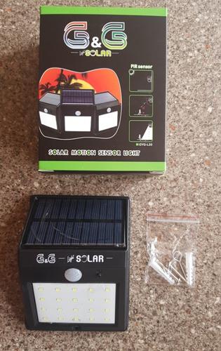 lamparas solares x 20 led ( con sensor de movimiento )