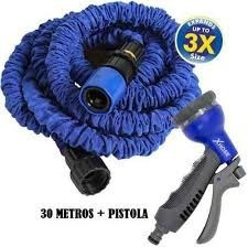 manguera expandible x hose 30 metros + pistola 7 chorros