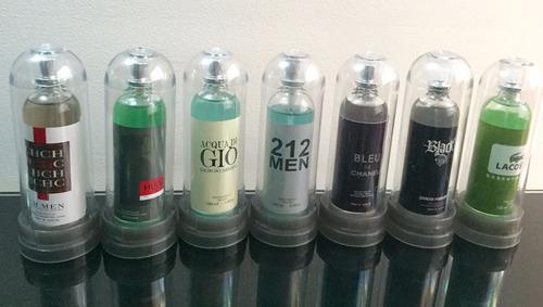 perfumes locion capsula splash hombre y mujer al por mayor
