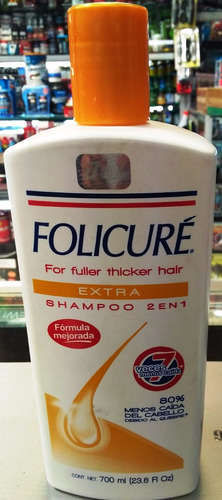 shampoo folicure contra la caida del cabello original 700 ml